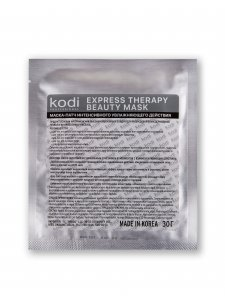 Hydrogel facial mask patch (ExpressTherapy Beauty Mask), KODI
