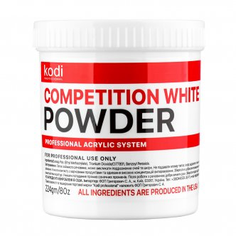Photo - Competition White (Competition white acrylic) 224 gr. from KODI PROFESSIONAL