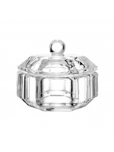 Transparent cup with a lid, 25 ml.