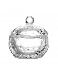 Transparent cup with a lid, 30 ml.