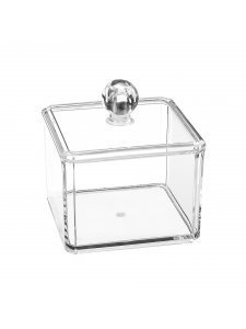 Cosmetic transparent organizer (square)