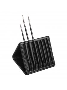 Case-stand for nail brushes