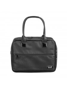 Bag for makeup artist Kodi professional (color: black with a flower pattern), KODI