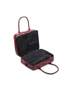 Bag for makeup artist Kodi professional (color: burgundy)