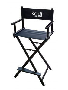 Folding Chair for Make-up Artists (Color: Black)