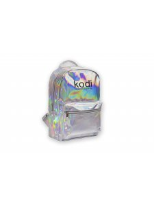 Backpack with Kodi professional logo (color: silver), KODI