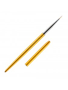 Gold painting brush 1 wiht logo Kodi Professional, size №00/3
