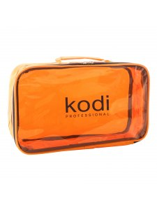 Kodi Make-Up Cosmetic Bag No. 6 (nylon; color: orange)