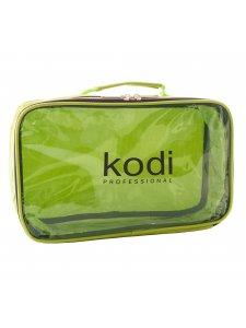 Kodi Make-Up Cosmetic Bag No. 7 (nylon; color: light green), KODI