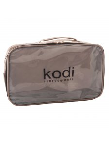 Kodi Make-Up Cosmetic Bag No. 8 (nylon; color: cappuccino)