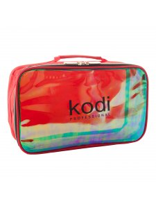 Kodi Make-Up Cosmetic Bag №15 (nylon; color: red, rainbow)