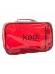 Kodi Make-Up Cosmetic Bag No. 16 (nylon; color: red), KODI