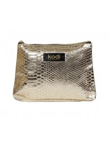 Gold cosmetic bag small (size: 21 * 17 * 2)