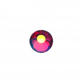 "Photo - Decorative crystals ""Fucsia AB"", size SS 12 (500pcs / pack), KODI from KODI PROFESSIONAL"