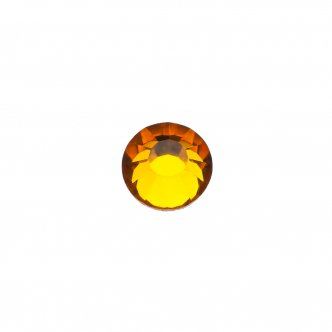 "Decorative crystals ""Topaz"", size SS 08 (200 pcs / pack), KODI"