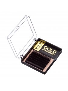Eyelash D 0.12 (6 lines: 9 mm) Gold Standard