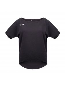 T-shirt loose warmed with Kodi professional logo (color dark gray, size XL)