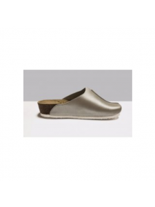 "Sabo ""Wellness"" on a cork sole material: leather, color: gold (size 39), KODI"