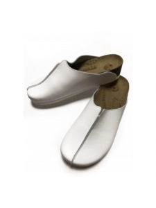 "Sabo ""Wellness"" on a cork sole material: leather, color: white (size 38), KODI"