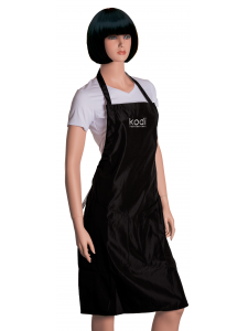 Apron Kodi professional black with silver logo (long), KODI