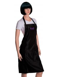 Apron Kodi professional black with purple logo (long), KODI