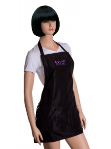 Apron Kodi professional black with purple logo (short), KODI