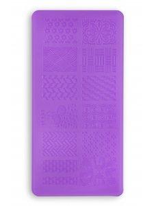 Plate for stamping L14 (6Х12sm), KODI