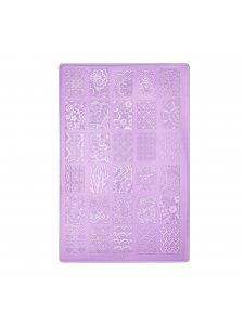 Plate for stamping К11 (9,5х14,5sm), KODI