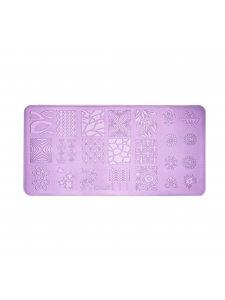 Plate for stamping L07 (6х12sm), KODI