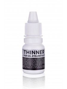 Thinner for gel eyeliner and eyebrow pomade, 10 ml