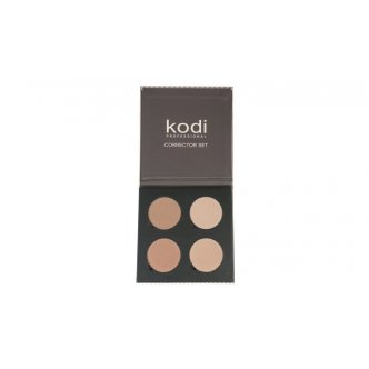 "Photo - 4 Сolor Contouring Palette 45 mm ser ""A', KODI from KODI PROFESSIONAL"