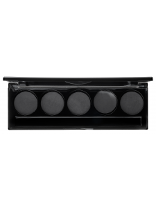 Magnetic palette for 5 refills (27 mm)