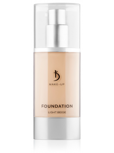 Foundation Light Beige Kodi Professional Make-up, 40ml, KODI