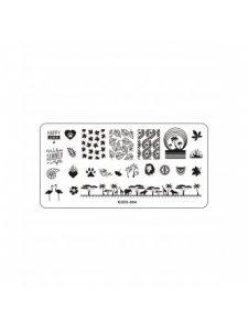 Plate for stamping, Kodi-004, KODI