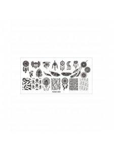Plate for stamping, Kodi-005, KODI