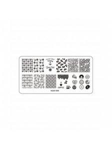 Plate for stamping, Kodi-006, KODI