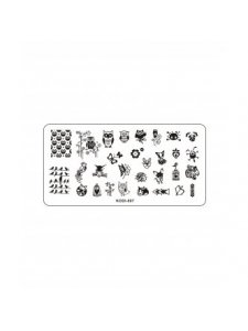 Plate for stamping, Kodi-007, KODI