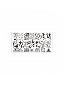 Plate for stamping, Kodi-008, KODI