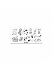 Plate for stamping, Kodi-009, KODI