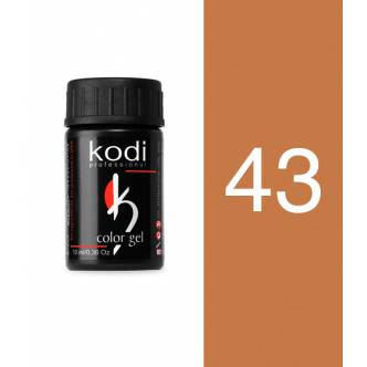 Photo - Color gel 10 ml. №43, KODI from KODI PROFESSIONAL