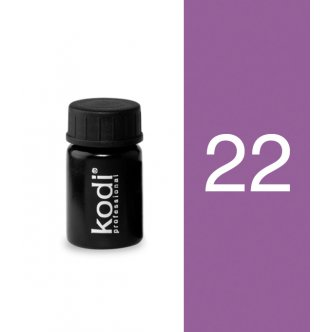 Photo - Color gel №22 (4 ml.) from KODI PROFESSIONAL
