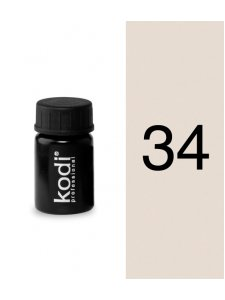 Color gel №34 (4 ml.), KODI