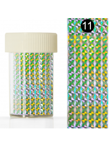 Nail art foil in a jar (4*110 cm) №11