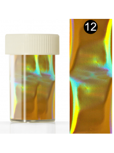 Nail art foil in a jar (4*110 cm) №12, KODI