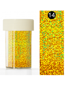 Nail art foil in a jar (4*110 cm) №14, KODI