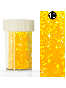 Nail art foil in a jar (4*110 cm) №15