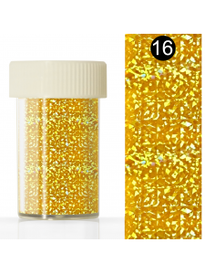 Nail art foil in a jar (4*110 cm) №16, KODI