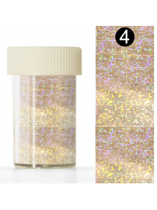 Nail art foil in a jar (4*110 cm) №4
