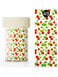 Nail art foil  in a jar (4*110 cm) №48, KODI