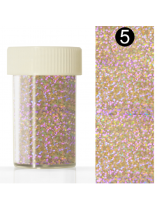 Nail art foil  in a jar (4*110 cm) №5, KODI
